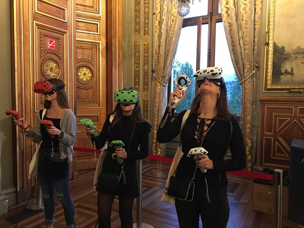 Animation réalité virtuelle - Animation réalité virtuelle pour l'entreprise Mairie de Paris nuit-etudiant-monde (réalité virtuelle, team building, animation, événementiel, virtual reality, vr, digital, technologie, fun, team, cohésion, innovation, Animation réalité virtuelle)