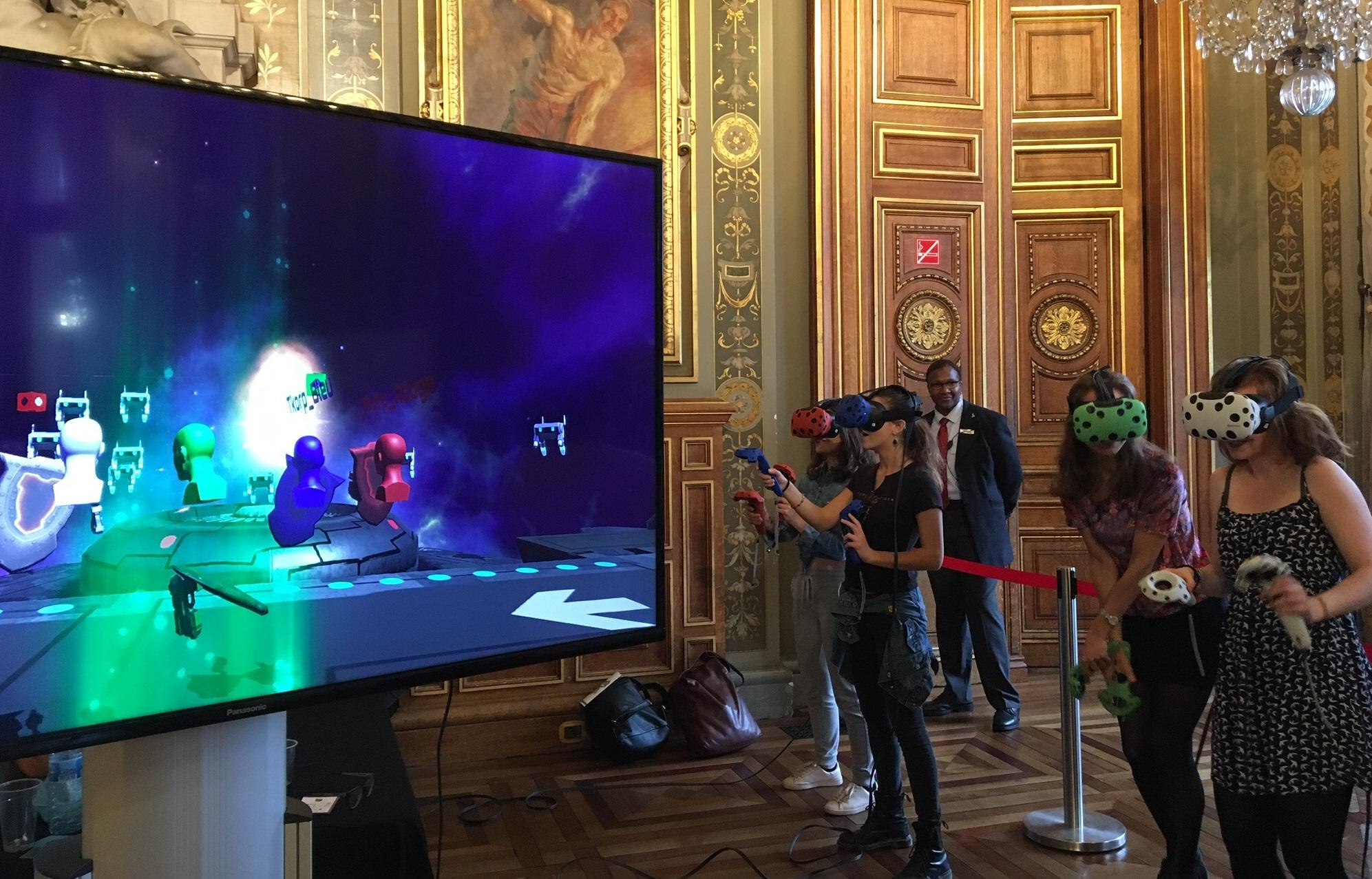 """Résultat de recherche d'images pour """"réalité virtuelle team building"""""""